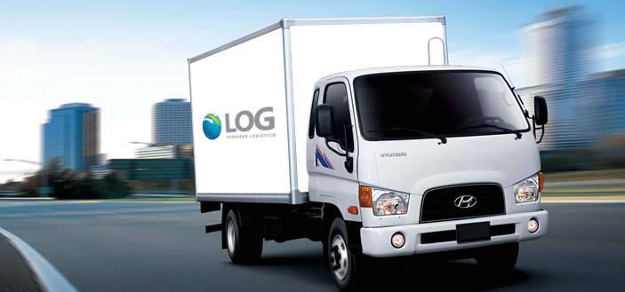 Transporte de carga ligera  LOG Operador Logístico